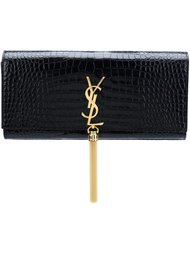 клатч 'Classic Monogram'  Saint Laurent