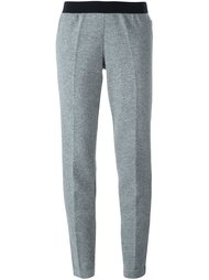 зауженные трикотажные брюки Moncler
