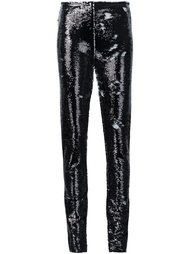 брюки с пайетками Jeremy Scott