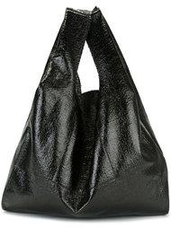 блестящая сумка-тоут Mm6 Maison Margiela
