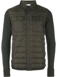 куртка с трикотажными рукавами Moncler