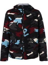 стеганая куртка с камуфляжным принтом Moncler Gamme Bleu
