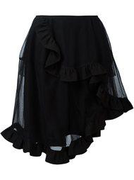 асимметричная юбка из тюля Simone Rocha