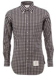 рубашка в клетку  Thom Browne