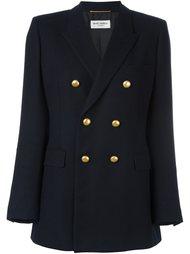 двубортный пиджак 'Angie' Saint Laurent