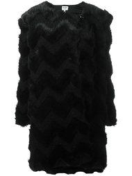 пальто 'Eco Fur'  Armani Collezioni