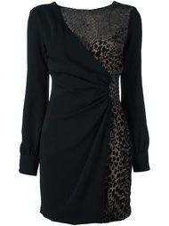 платье с леопардовым принтом   Emanuel Ungaro