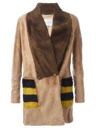 пальто с панельным дизайном Max Mara