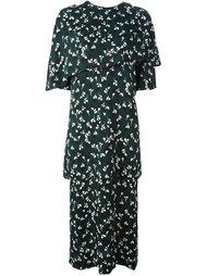 платье миди с принтом 'Stream' Marni