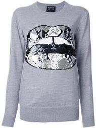 свитер с аппликацией  Markus Lupfer