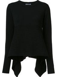 свитер с удлиненной спинкой Alexander McQueen