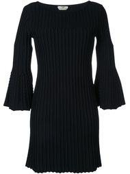 платье в рубчик  Fendi