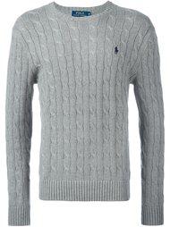 свитер с вышитым логотипом  Polo Ralph Lauren