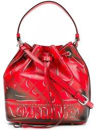 сумка-тоут 'trompe-l'oeil' Moschino