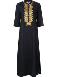 платье-кафтан 'Thandie' с блестками Figue