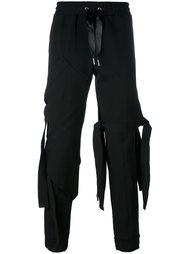 асимметричные спортивные брюки  Nicopanda
