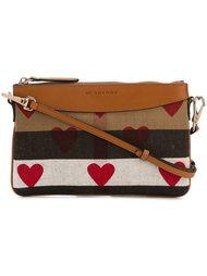 сумка через плечо с принтом сердец Burberry