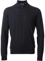 классическая рубашка-поло Drumohr