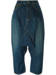 джинсы с заниженной шаговой линией  Junya Watanabe Comme Des Garçons