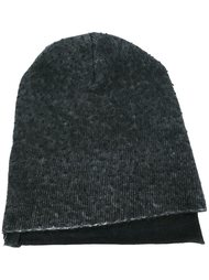 шапка ребристой вязки Avant Toi