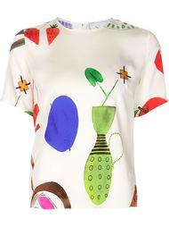 блузка с графическим принтом Novis
