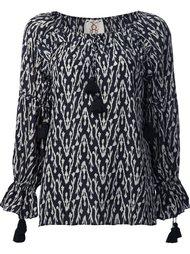 блузка 'Clodie' с этническим рисунком Figue