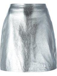 кожаная юбка Nicopanda