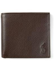 кошелек с тисненым логотипом Polo Ralph Lauren
