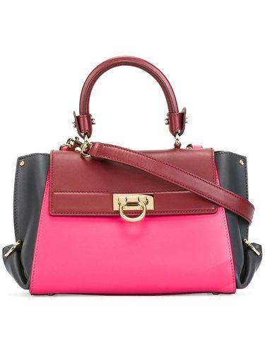 Женская светло-розовая сумка sofia SALVATORE FERRAGAMO
