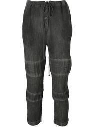 брюки с контрастными вставками Lost & Found Ria Dunn