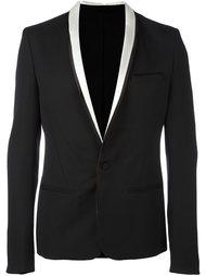 пиджак с контрастными лацканами-шалькой Haider Ackermann