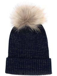 шапка-бини 'Pom Pom' Yves Salomon