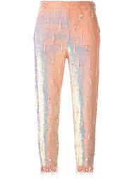брюки с пайетками Ashish
