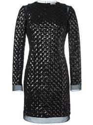 приталенное платье  Emanuel Ungaro