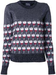 свитер с узором  Markus Lupfer