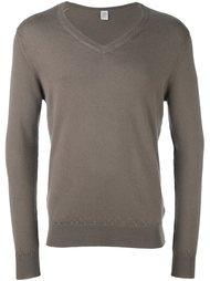 свитер c V-образным вырезом   Eleventy