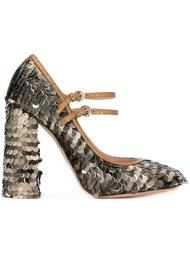 декорированные туфли-лодочки Rochas