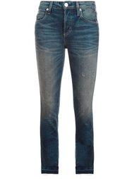 укороченные джинсы кроя скинни  Amo