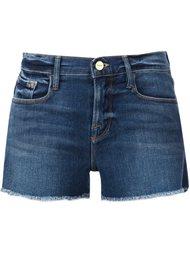 джинсовые шорты Frame Denim