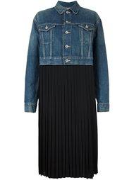 плиссированное платье  Junya Watanabe Comme Des Garçons