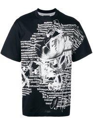 футболка 'Nicopanic' с графическим принтом Nicopanda