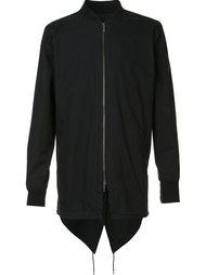 куртка-бомбер свободного кроя Zanerobe