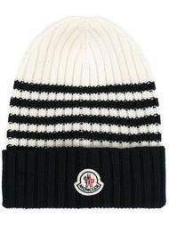 шапка-бини в полоску Moncler