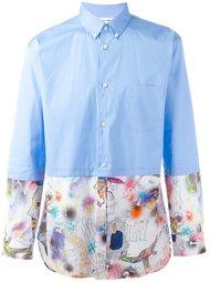 рубашка с цветочным принтом  Comme Des Garçons Shirt