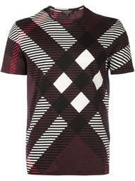 футболка с геометрическим принтом Burberry