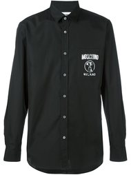 классическая рубашка  Moschino