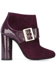 ботинки с пряжкой Lanvin
