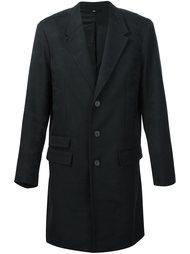 длинное пальто с камуфляжным рисунком Neil Barrett