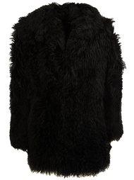 короткое пальто Saint Laurent