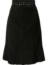 юбка длины миди с заклепками Proenza Schouler